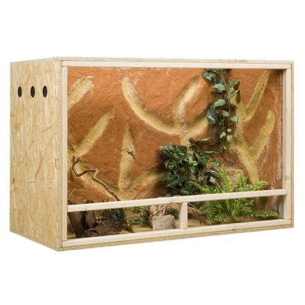 Terrarium en bois OSB