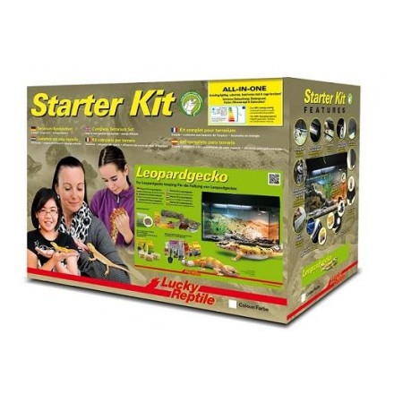 Starter Kit Lucky Reptile